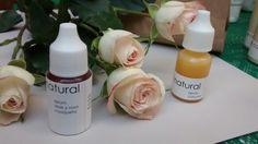 Serum antiarrugas de aloe y rosa mosqueta y serum de cúrcuma y teatree para acné y piel con imperfecciones