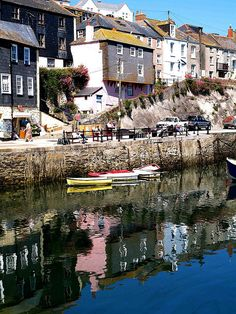 Padstow, Cornwall - A typical Cornish Harbour Scene by saxonfenken, via Flickr