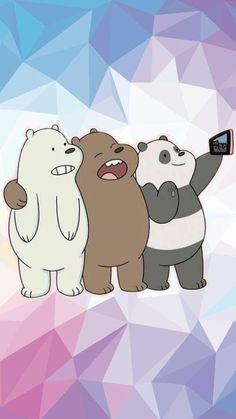 We bare bears wallpaper hd Cartoon Wallpaper, Wallpaper Animes, Bear Wallpaper, Wallpaper Iphone Cute, Aesthetic Iphone Wallpaper, Wallpaper Quotes, We Bare Bears Wallpapers, Cute Wallpapers, Games Tattoo