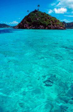 isla del mar caribe - colombia