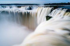 Garganta del diablo Parque Nacional Iguazú Puerto Iguazú, Argentina