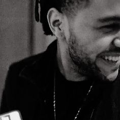 The Weeknd's smile, man. I am so in love with him