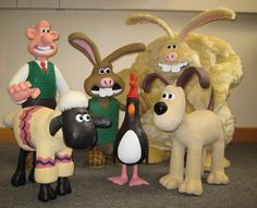 wallace and gromit characters - Google Search