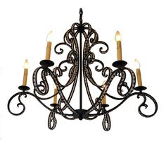 Sherry Chandelier ~ great sight for lighting