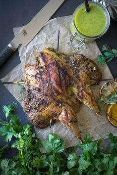 Grilled Pheasant + Mojo Sauce - Wild + Whole