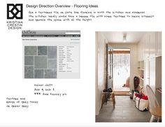 Design Direction Overview- Flooring Ideas