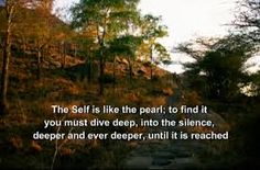 The self is like the pearl...