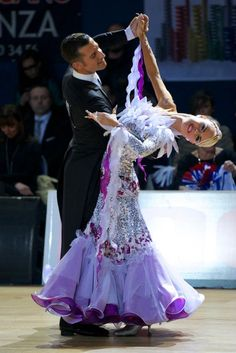 #ballroom #dancing Paolo Bosco & Joanne Clifton - WDSF Professional Division World Championships 2013, 2nd place