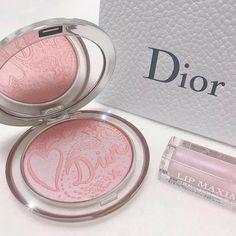 Cute Makeup, Pretty Makeup, Makeup Looks, Makeup Collection Storage, Make Up Collection, Dior Makeup, Makeup Cosmetics, Makeup Blush, Dior Beauty