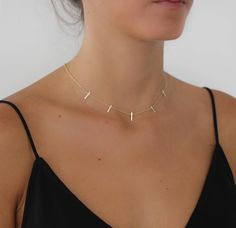 X Cross Necklace - minimal necklace / simple necklace / layering necklace / dainty necklace / delicate necklace / minimalist / gifts for her - Fine Jewelry Ideas Dainty Jewelry, Silver Jewelry, Jewelry Accessories, Jewelry Necklaces, Fine Jewelry, Jewelry Design, Gold Bracelets, Silver Ring, Gold Rings