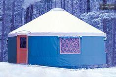 Yurt, Durham Maine- airbnb.com
