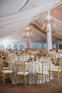 Stylish Michigan Estate Wedding 2019 Elegant wedding reception decor round banquet tables with lace table linens hanging chandeliers and string lights {Kari Dawson Weddings} The post Stylish Michigan Estate Wedding 2019 appeared first on Vintage ideas. Wedding Reception Decorations Elegant, Wedding Centerpieces, Elegant Wedding, Reception Ideas, Banquet Decorations, Boho Wedding, Wedding Hair, Chandelier Wedding Decor, Wedding Tent Lighting