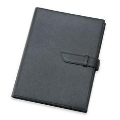 クリスタルグレイン コンビネーションジャケット A4 ベルト付 ブラック 14700yen アイデア次第で幅広く使えるノートカバー