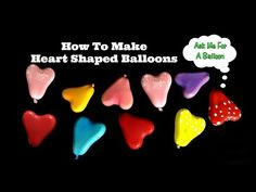 How To Make Linking Balloons - YouTube