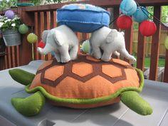 discworld, a'tuin and the four elephants. wowowowow!