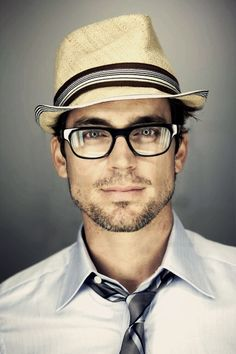 Matt Bomer. You know the pact is strong when even a heavy dose of stylized nerd can't hide the gorgeous.