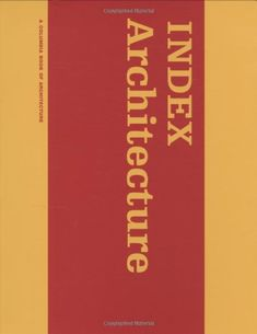 'Index architecture' documents the extensive cross-fertilization of ideas that can occur between architectural practice and education. Through work developed by students and faculty at Columbia University's School of Architecture, it offers not only an archive of avant-garde work but a record of architectural discourse at a time when the design studio has been radically altered by digital technology. Writings, interviews,