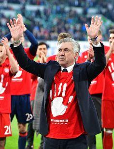 Dfb Team, Carlo Ancelotti, Lewandowski, Trainer, Soccer, Football, Sports, Jackets, Fc Bayern Munich