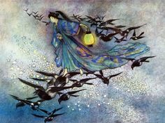 Warwick Goble - Green Willow