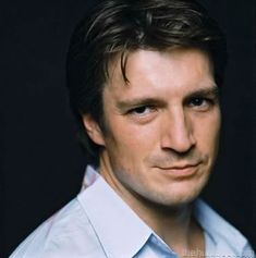 """Nathan Fillion. Firefly, Dr. Horrible's Sing Along Blog, etc.  Smirk away!    'Wash: This landing is gonna get pretty interesting.  Mal: Define """"interesting"""".  Wash: Oh God, oh God, we're all going to die?"""