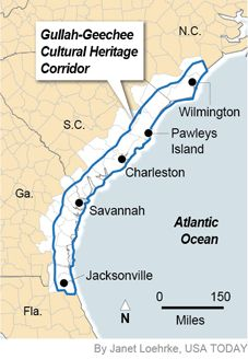 North Carolina Gullah Islands