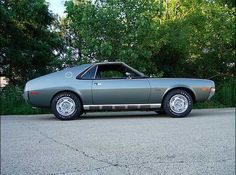 AMX  Dad found one of these with a blown engine when we lived in Atlanta.  He wanted to do a project car but he got orders and there was no way we could do it.