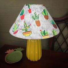 Gorgeous Fabrics, Bedside, Upcycle, Cactus, Table Lamp, Shades, Kids, Instagram, Home Decor