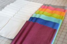 Stash Fabrics. Pretty color choices.