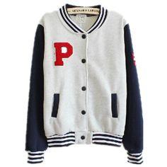Baseball jacket female