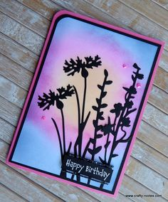 Pink Cards, Stampin Up Catalog, Stamping Up Cards, Tim Holtz, Flower Cards, Cute Cards, Wildflowers, Homemade Cards, Champs