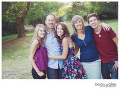 I like the closeness of the family.  I like that it's a family with teens! The background is so-so.