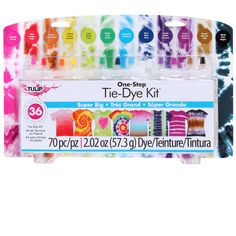 <div>The easiest tie-dye solution for parties, sleepovers, camps and clubs. Everything but the t...