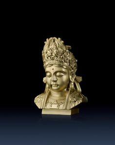 Brass Master Home decor sculpture - Metal crafts ornaments statue - Guan Yin(II) 1020002 Special Price: $759.00 Links: http://www.amazon.com/gp/product/B00KK3J6BG