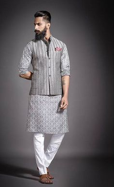 Pin by shamim shuvo on things to wear in 2019 мужская мода, Mens Indian Wear, Mens Ethnic Wear, Indian Groom Wear, Indian Wedding Wear, Indian Men Fashion, New Mens Fashion, Mens Fashion Suits, Male Fashion, Wedding Kurta For Men