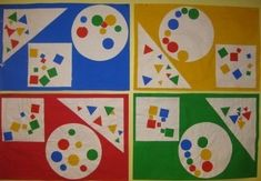 Kindergarten Activities, Toddler Activities, Preschool Activities, Kandinsky Art, Learning Shapes, Math Games, Small Groups, Early Childhood, Art Lessons