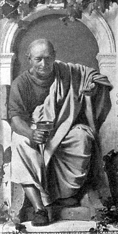 Horace (65 BC–8 BC), Roman poet, outstanding Latin lyric poet and satirist under the emperor Augustus