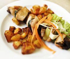 Denné menu Vranov | Grilovaný kurací špíz, opečené zemiaky - reštaurácia Hotel Patriot*** #hotel #restaurant