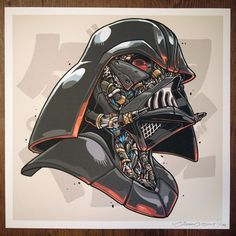 ClogTwo – Mechasoul Vader – Geek Art – Art, Design, Illustration & Pop Culture !