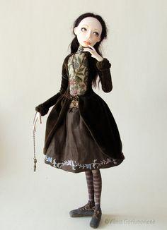 OOAK Art Doll Kunigunda