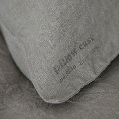 Linen Pillow Cases: Natural