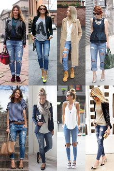 calça rasgada 6-vert Smart Casual, Casual Looks, Look 2018, Outfit Combinations, Office Wear, Lace Dress, Fashion Shoes, Capri Pants, Cute Outfits