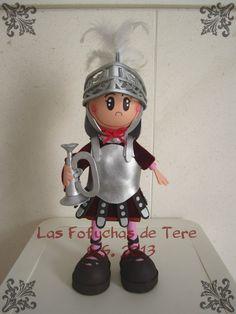 Las Fofuchas de Tere: MADRUGÁ VIERNES SANTO: Fofucho Armao de La Macarena!
