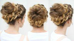High Bun Hairstyle Tutorial Video Best Latest Hairstyle - High bun hairstyle tutorial