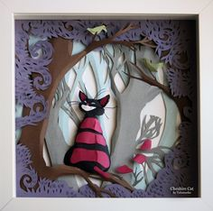 Paper adventures with Alice in Wonderland by Adamova Marina - ego-alterego.com