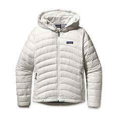 $146  Cheap Patagonia Online & Patagonia Women's Down Sweater Full-Zip Hoody Birch White