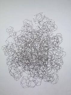 Himmeli-inspiration Geometric Sculpture, Geometric Shapes, Sculpture Projects, Sculpture Art, Antony Gormley Sculptures, Art Of Living, Public Art, Textures Patterns, Fiber Art