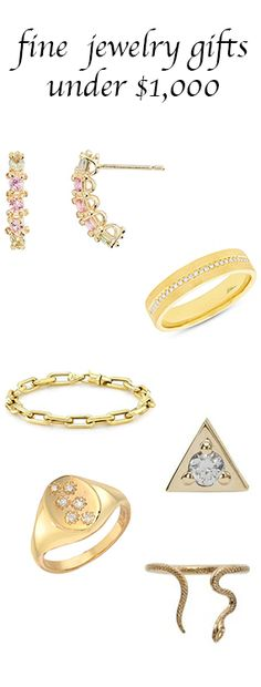 What to give for Christmas, under $1,000 (fine jewelry)