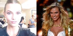 These girls can rock the runway with and without makeup!