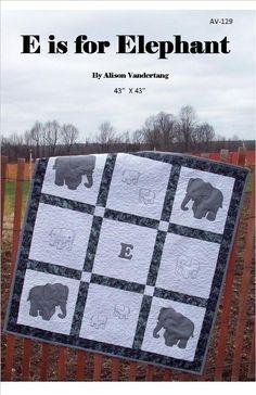 E is for Elephants - via @Craftsy