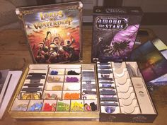 Very impressed by @tbt_gaming's inserts for WoTC's LORDS OF WATERDEEP & @StrongholdGames's AMONG THE STARS: